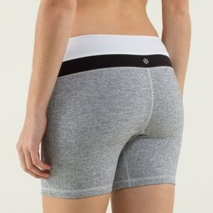Lululemon Groove Short Regular Herringbone NWT